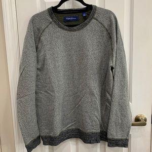 English Laundry Mens Crew Neck Pullover Sweatshirt